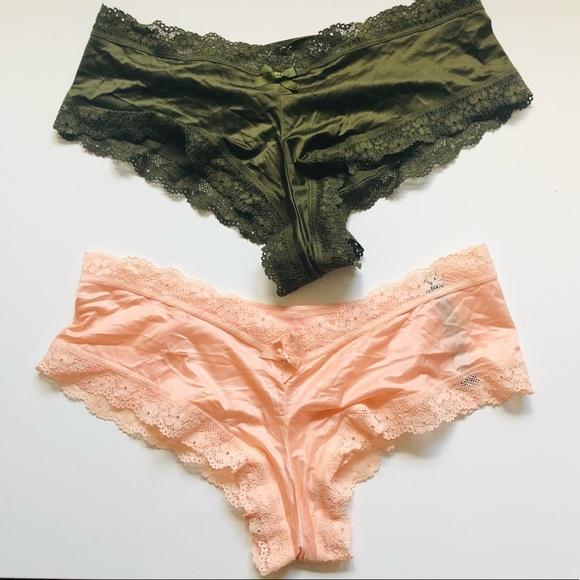 NWOT: Victoria's Secret cheeky panties lace
